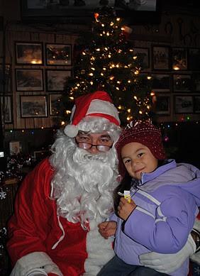 Santa in Crown King