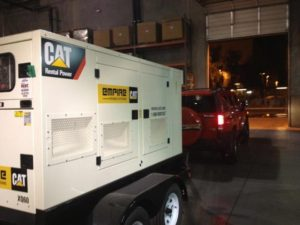 Generator delivered to Crown King