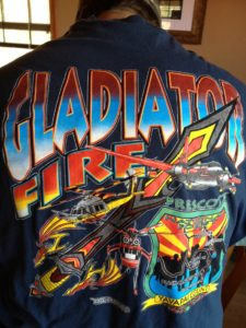 Gladiator Fire Shirts